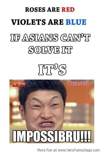 If Asians Can't Solve it, It's Impossibru!   Funnygags   Scoop.it