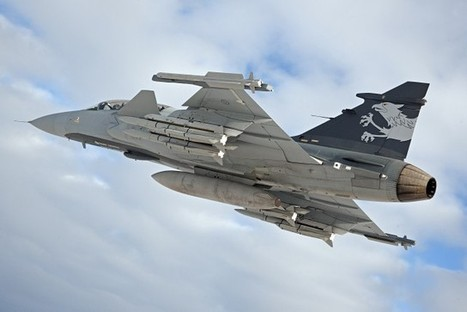 Saab Receives Serial Production Order For Gripen E To Sweden | Fighter Jet News | Scoop.it