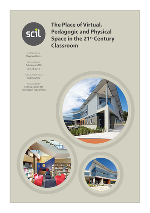 The Place of Virtual, Pedagogic and Physical Space in the 21st Century Classroom | Libros y bibliotecas | Scoop.it