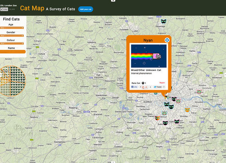 DeMOGraphics: Cat Map plots locations, names, and colors of London felines   Digital-News on Scoop.it today   Scoop.it