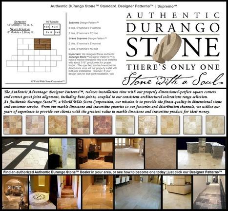 2 of 13 West Coast Style Travertine Tile Designer Flooring Patterns | Popular Marble Limestone Travertine Tile Patterns | Scoop.it