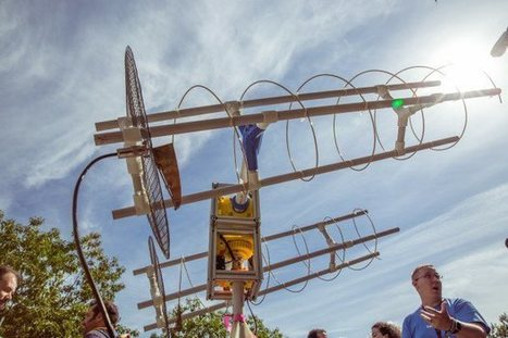 Build Your Own Satellite Ground Station | Make: | Cyber ferme | Scoop.it
