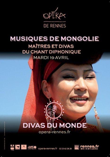 Divas du monde à l'Opéra de Rennes : initiation à l'art étrange du Khöömii | Opéra de Rennes | Scoop.it