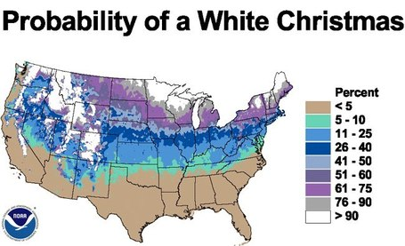 Will it be a white Christmas? | Maps are Arguments | Scoop.it