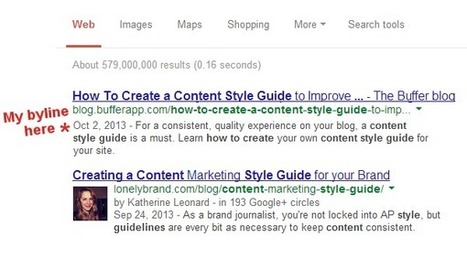 Why Google authorship is so important for the content you create and how to set it up - - The Buffer Blog | Web marketing | Scoop.it