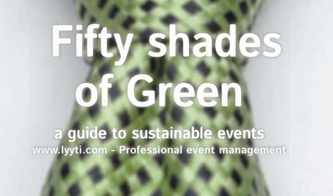 How to do a sustainable event? | Mars Chanot | Scoop.it