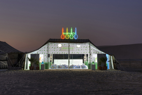 Damien Hirst And Prada Launch Pop-Up Juice Bar In The Desert [Pics] - PSFK | Store 3.0 | Scoop.it