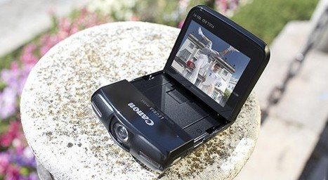 Canon's 1080p Legria mini camcorder makes it easy to film... yourself - Engadget | Technology | Scoop.it