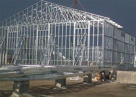 Light Gauge Metal Framing | Steel Construction | Construction Video | Custom Home Building | Scoop.it