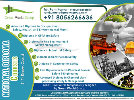 National Safety Diploma Courses | Nebosh courses | Scoop.it