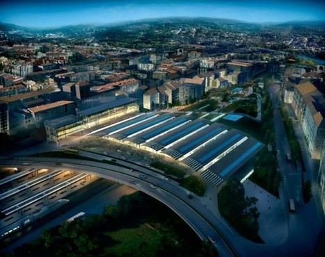 Ourense AVE station by Foster + Partners | ARCHIresource | Scoop.it