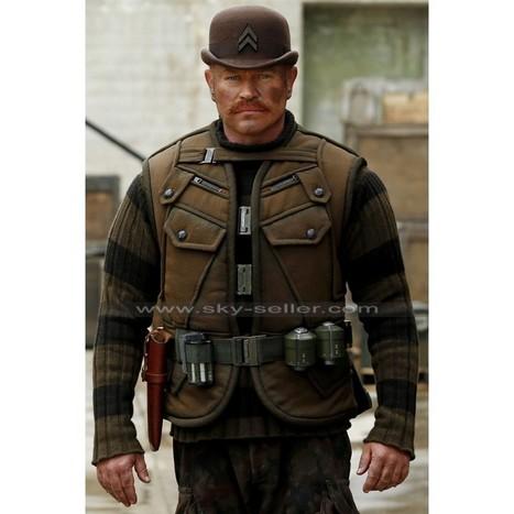 Dum Dum Dugan Neal Mcdonough Tactical Vest   Sky-Seller : Men Leather Jackets   Scoop.it