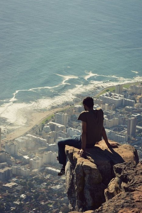 Picture of the Day: Looking Down from Lion's Head | Urban Culture is my Playground | Scoop.it