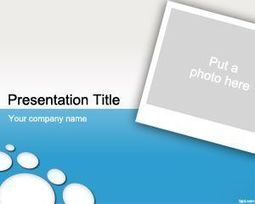 Photo PowerPoint Template | Free  PowerPoint Templates | Scoop.it