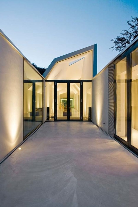 Sun-Flooded Sustainable Home in the Netherlands | sustainable architecture | Scoop.it