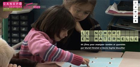 Le nombre en maternelle - 44 films pour enseigner nombre et quantités @reseau_canope | Teaching FRENCH | Scoop.it