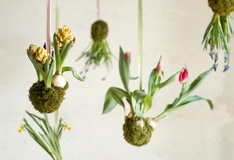 Initiales GG, une fille mais pas que...: DIY : des fleurs suspendues à mon plafond! | DIY DIY | Scoop.it