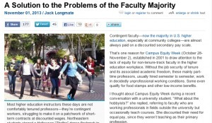A Solution to the Problems of the Faculty Majority | Labor Notes | A is for Adjunct | Scoop.it