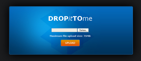 DROPitTOme - Securely receive files from anyone to your Dropbox | Geeks | Scoop.it