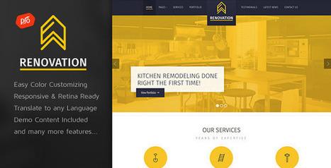 Best Construction WordPress Themes - WebCreate.Me   Professional WordPress Themes Designs   Scoop.it