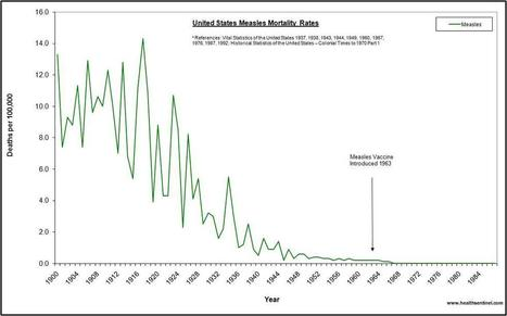 Do Vaccines Save Lives? What Infectious Disease Mortality Graphs Show | Health Supreme | Scoop.it