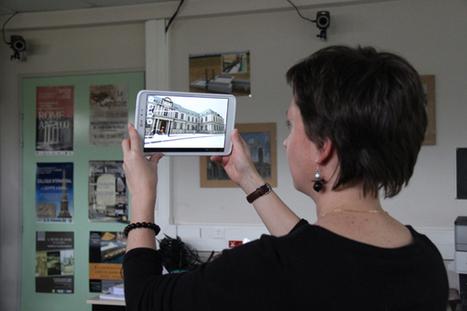 Appli de réalité augmentée sur l'université de Caen   Cabinet de curiosités numériques   Scoop.it