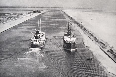 La evolución del comercio internacional: el Canal de Suez | Musée du Louvre | Scoop.it