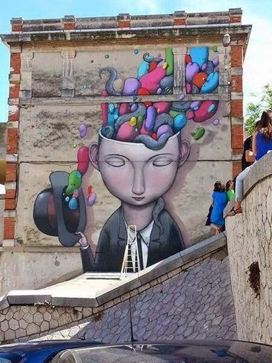 Seth Globepainter, Street Art K-Live Festival, Sete, France @GoogleStreetArt | Street Art Planet | Scoop.it