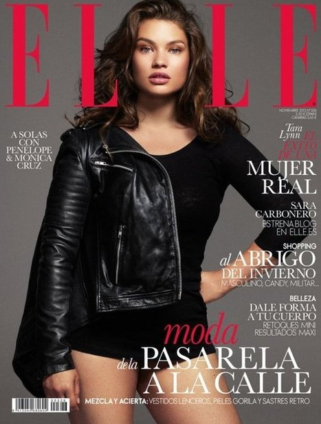 Why Elle Spain's Plus-Size Cover Girl Gives Us Hope | Total BodySmarts | Scoop.it