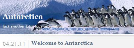 Antarctica - Just another Edublogs.org weblog | TPS Library | Scoop.it