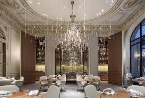 Plaza Athénée : une modernité qui reflète la beauté des détails   Décoration: hôtels & restaurants   Scoop.it
