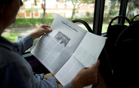 PaperLater imprime le web sur du papier journal | medianumériques | Scoop.it