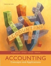 Test Bank For » Test Bank for Accounting Concepts and Applications, 10th Edition : Albrecht Stice Download | Accounting Online Test Bank | Scoop.it