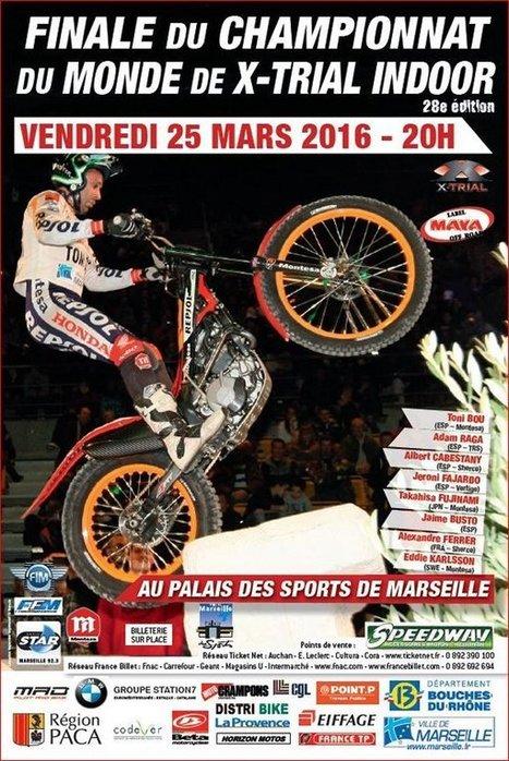 Championnat du Monde de X-Trial Indoor à Marseille   Communiquaction   Communiquaction News   Scoop.it