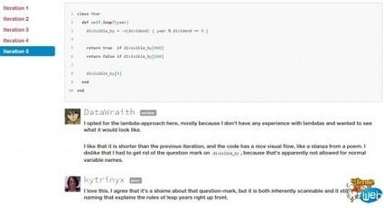 Exercism: Une plateforme d'analyse et revue de code collaborative | Time to Learn | Scoop.it