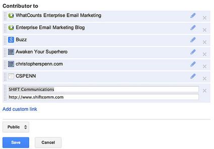 How to set up Google+ authorship - SHIFT Communications PR Agency | Boston | New York | San Francisco | SEO copywriting | Scoop.it