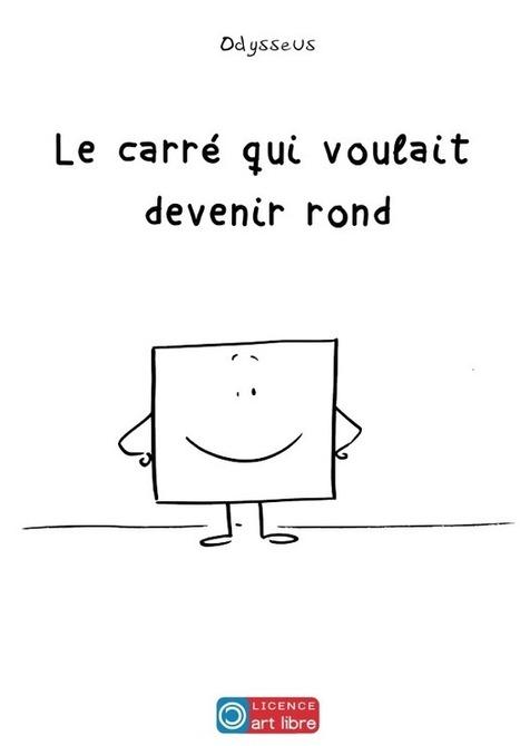 Le récit d'un carré qui, par amour, veut devenir rond | FLE enfants | Scoop.it