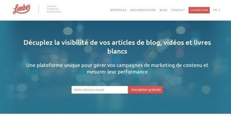 Test de Limber : nouvel outil gratuit de veille et curation | Time to Learn | Scoop.it