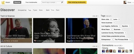 Visual Curation of Bookmarks Gets Better with Utopic.me | Infotention | Scoop.it