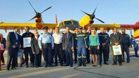Israel honors foreign firefighters for 'bravery in our time of need' | Jewish Education Around the World | Scoop.it