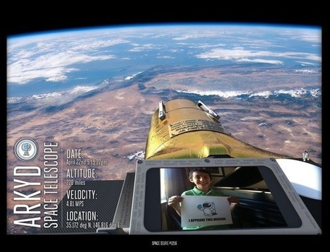 Insert Coin: Planetary Resources ARKYD space telescope will take your selfies from space in 2015 | Life is: | Scoop.it