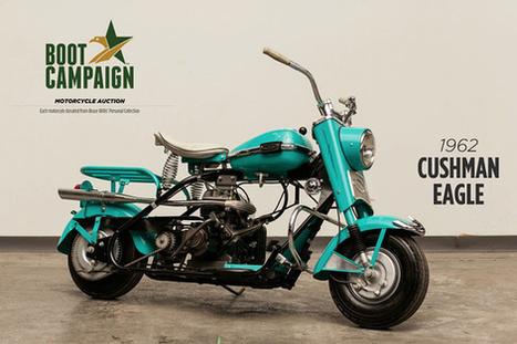 Bid on Bruce Willis's 1962 Motorcycle - Look To The Stars | ducati fort worth | Scoop.it
