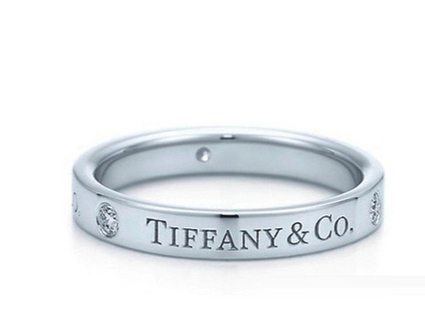 Tiffany and co jewellery Circle Set With Diamonds Ring Outlet At USATiffanyJewelryOutlet.com - $41.51 | style it | Scoop.it