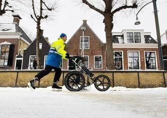 Elfstedentocht: Rayonhoofd Hein Althuis heeft bij #Bartlehiem een ijsdikte gemeten van vijftien centimeter. | ten Hagen on Social Media | Scoop.it