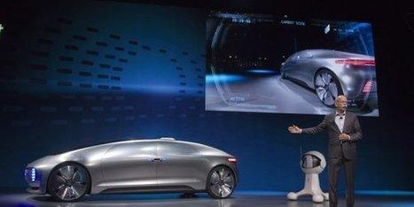 Mercedes répond à Google avec sa voiture sans chauffeur | Innovation & Technology | Scoop.it
