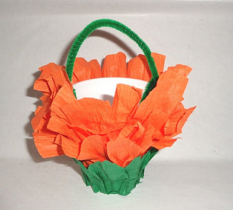 Halloween Favors Orange Black Orange Green baskets wedding party favors | birthday party | Scoop.it
