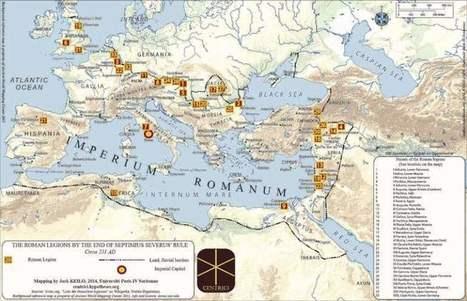 Cómo se numeraban y nombraban las legiones romanas | ArqueoNet | Centro de Estudios Artísticos Elba | Scoop.it