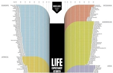 Charting the Life Expectancies of the World's Countries   JESS Arabian Ranches   Scoop.it