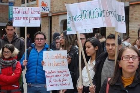Contre la hausse du minerval des étudiants hors-UE | Revue de presse de l'AGL | Scoop.it
