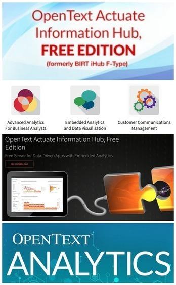 Logiciel professionnel gratuit iHub, Free Edition 3.1 2015 Serveur d'applications orientées données avec analytique intégrée pour analystes professionnels | Logiciel Gratuit Licence Gratuite | Scoop.it